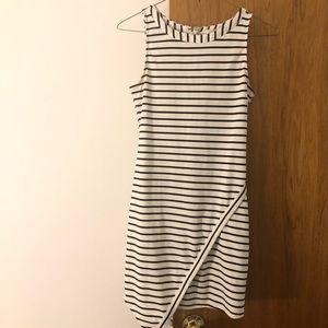 Jack BB Dakota Womens Striped Dress Size S White